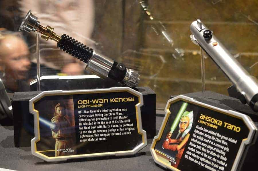 Star Wars Movie Props: Light Sabers
