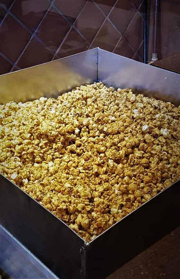 Karamell-Küche Popcorn