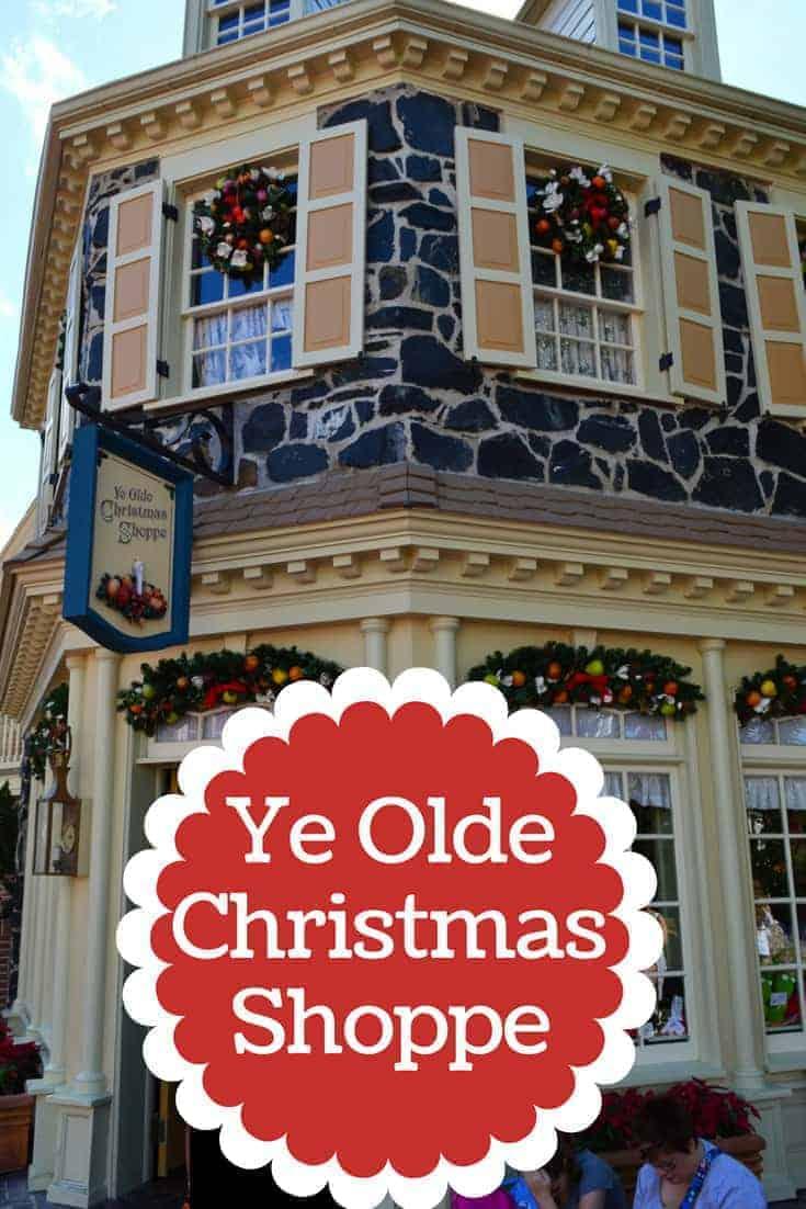 Christmas Shoppe in Magic Kingdom