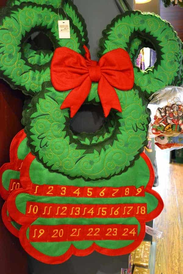 Mickey Mouse Advent Wreath