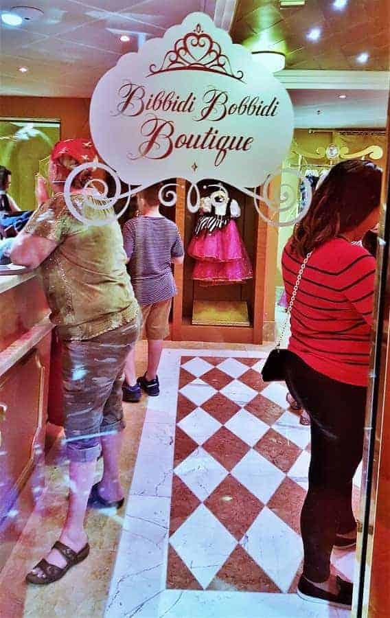 Disney Wonder Bibbidi Bobbidi Boutique