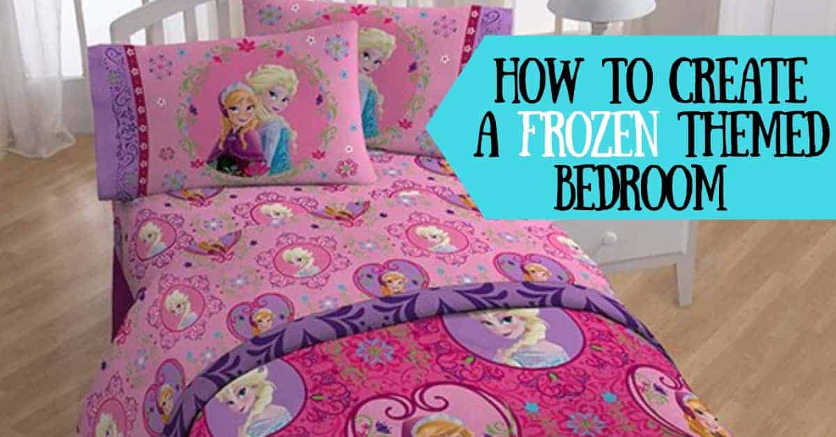 Frozen Themed Bedroom Deocr
