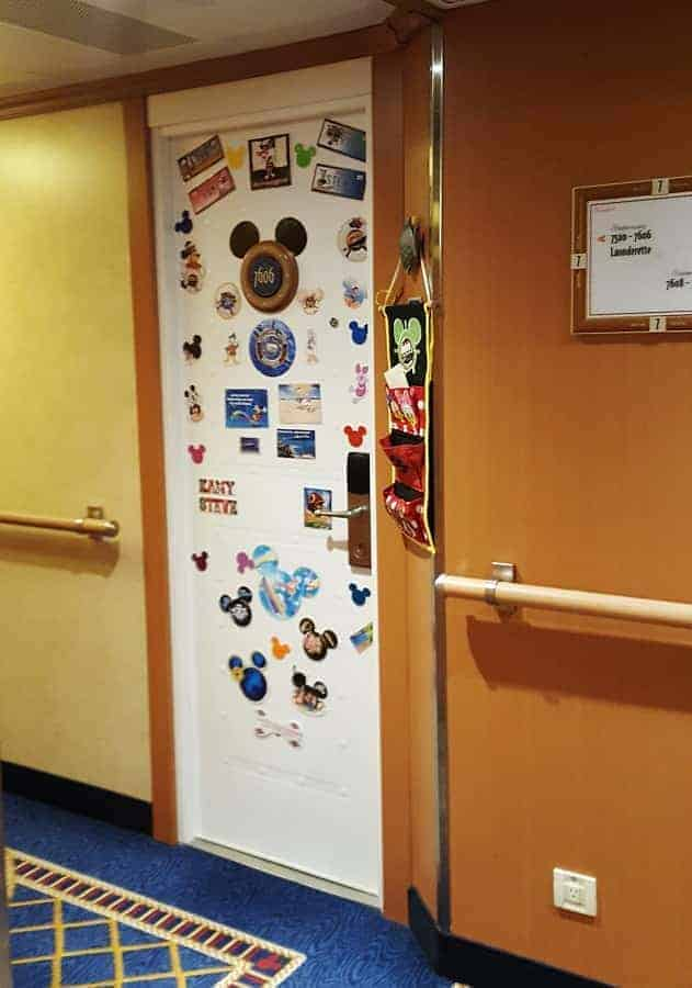 Disney Cruise Line Doors are Magnetic