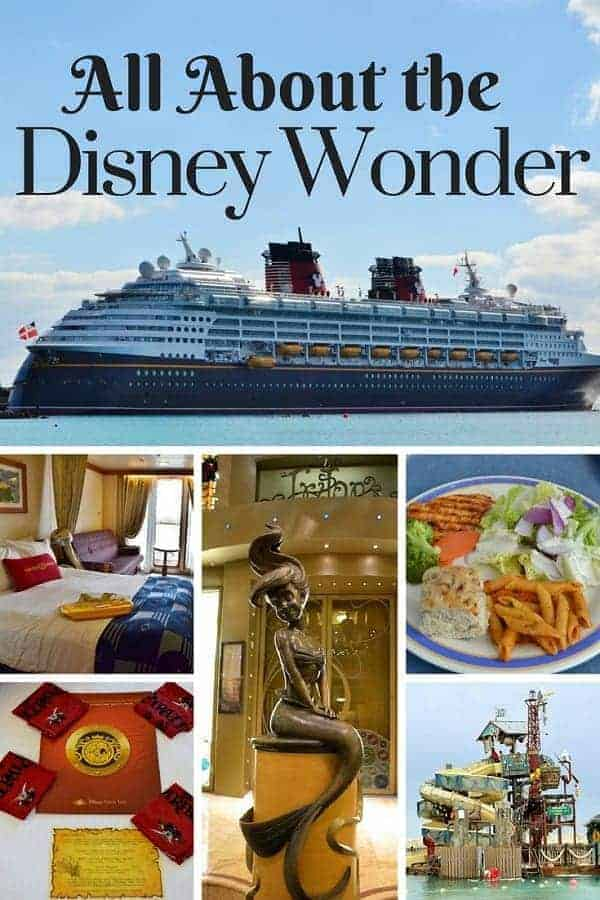 Review of the Disney Wonder Cruise Ship