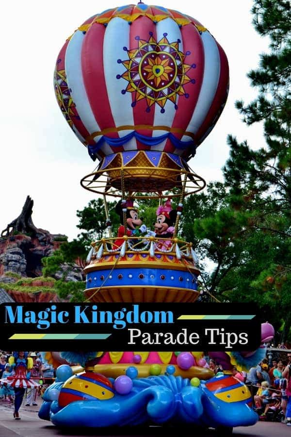 Magic Kingdom Parade Tips