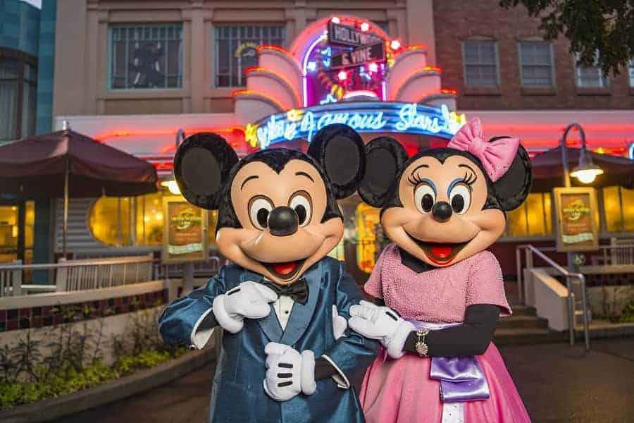 Silver Screen Dine with Mickey & Minnie Mouse