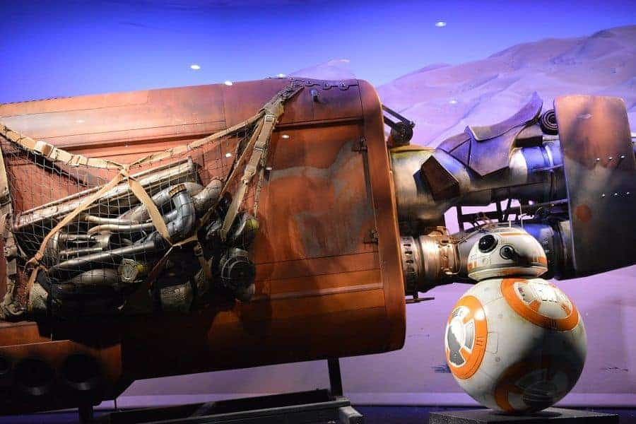 Meet BB8 in Star Wars Launch Bay