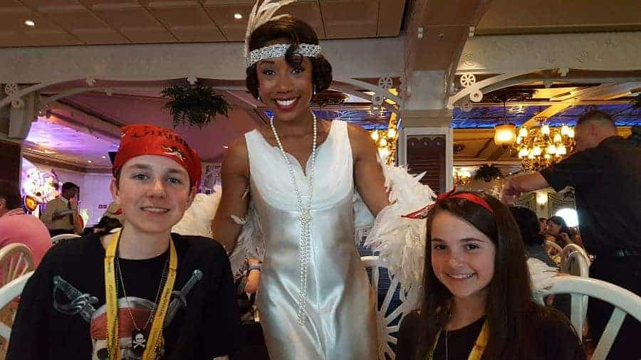Tiana on Disney Wonder Cruise Ship