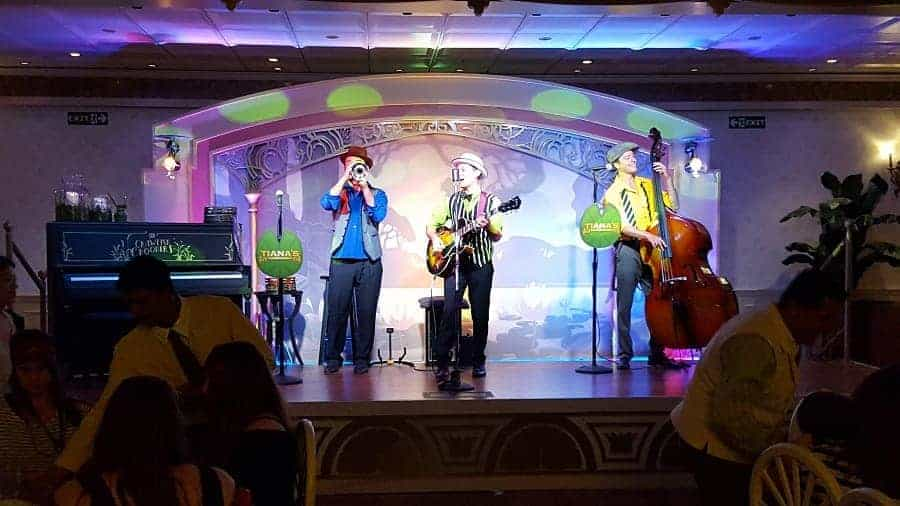 Jazz Musicians on Disney Wonder