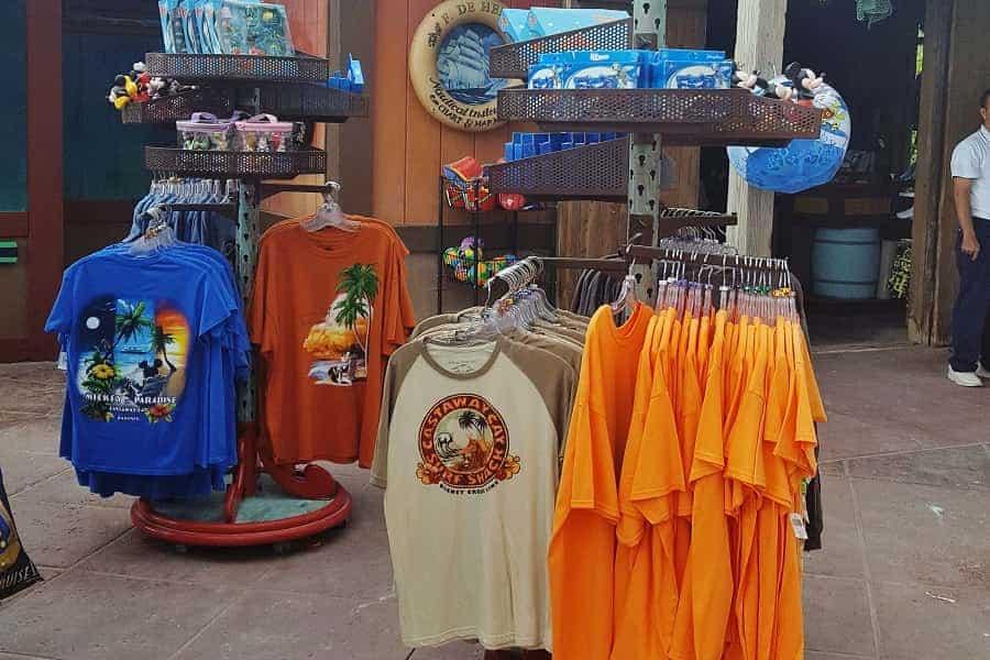 Castaway Cay T-shirts