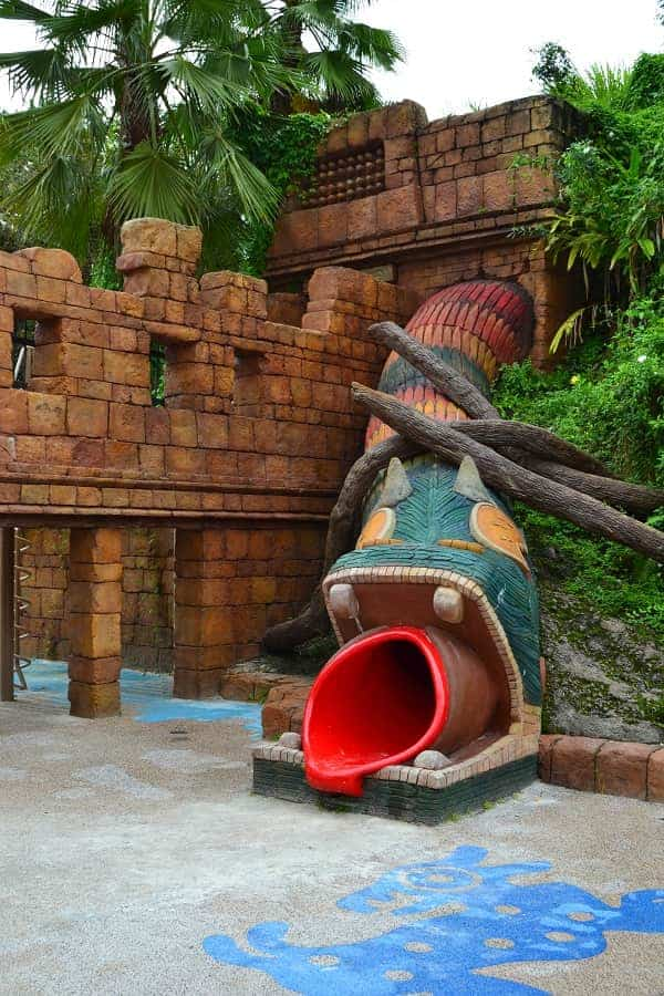 Playground at Coronado Springs Resort in Disney