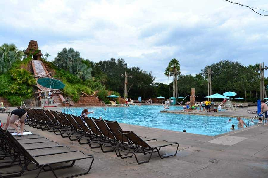Coronado Springs Pool Area