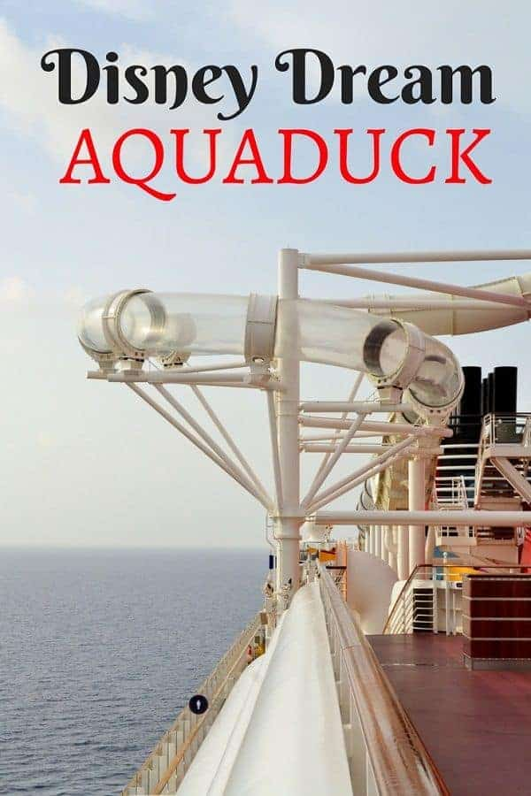 Disney Aquaduck on Disney Dream