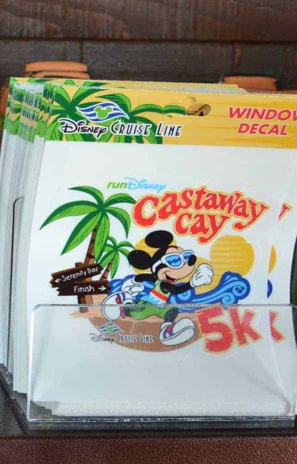 Castaway Cay 5K decal