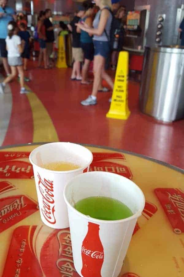 Soda at Epcot
