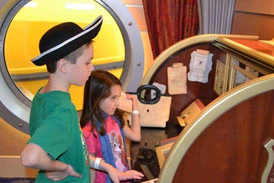 Midship Detective Agency on the Disney Dream
