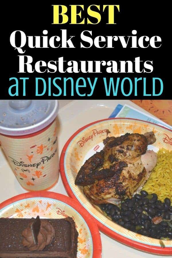 Best Quick Service Disney World Restaurants