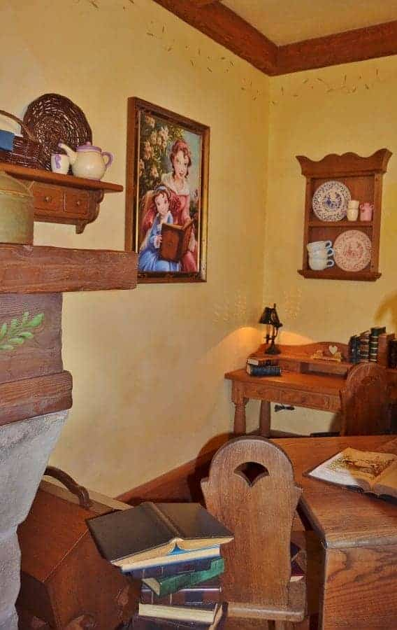 Inside Maurice Cottage where Belle grew up
