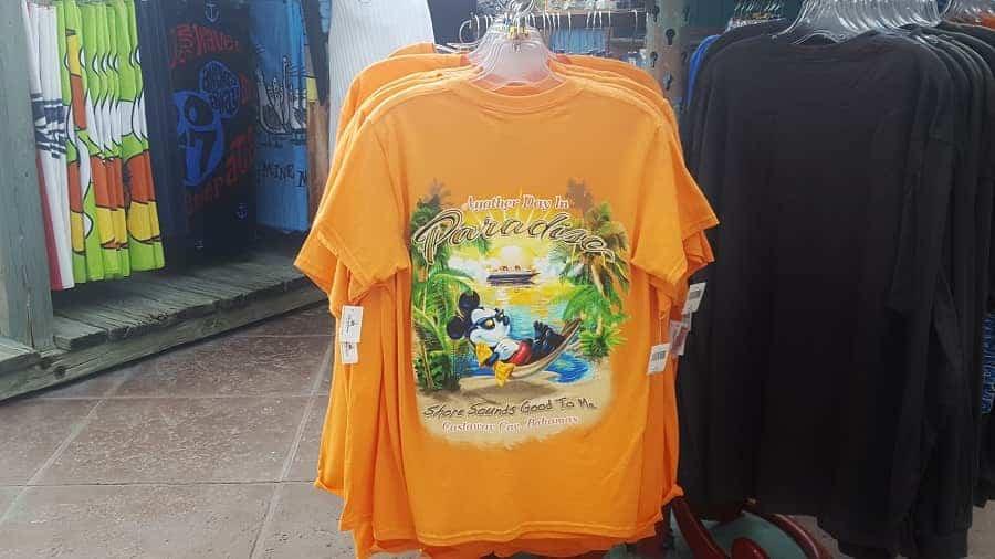 Mickey Mouse Paradise Castaway Cay Shirt