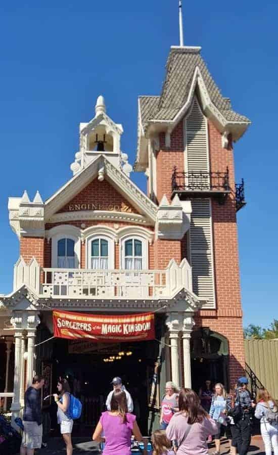 Firehouse at Magic Kingdom