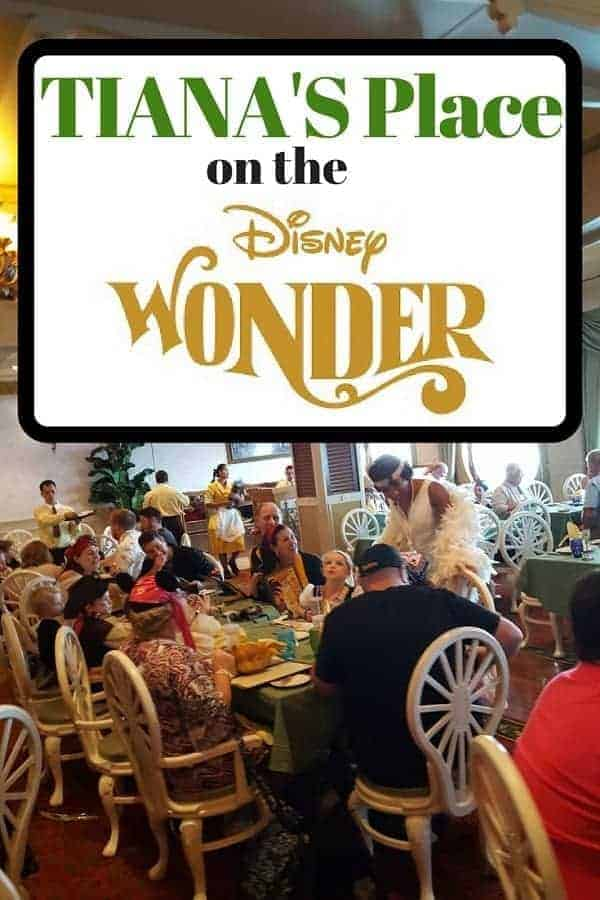 Check out Tiana's Place on Disney Wonder