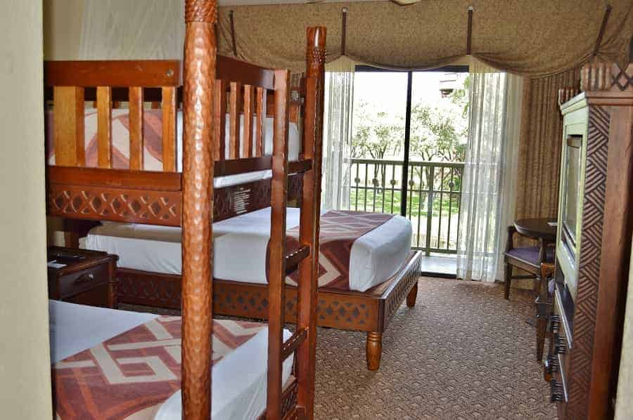 Savanna View Bunk Bed Rooms