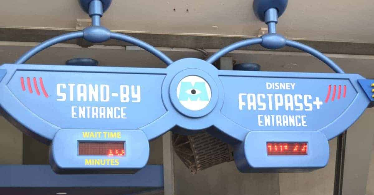 List of Disney Fast Passes