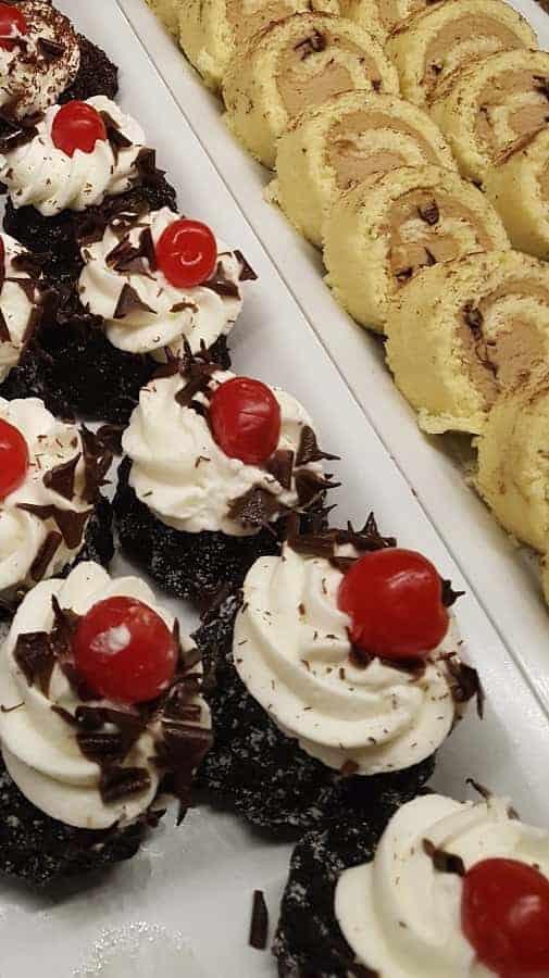 Biergarten Restaurant Desserts
