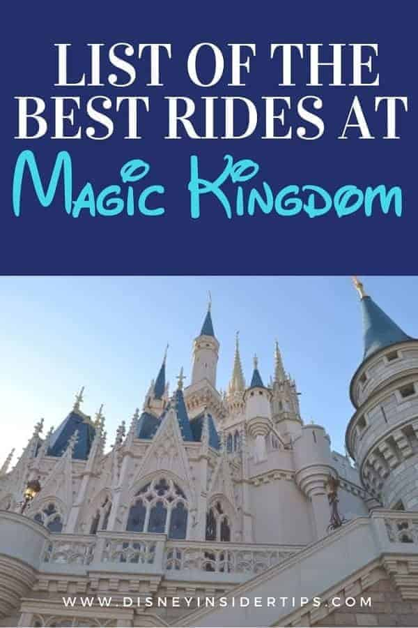 List of the Best Rides at Magic Kingdom