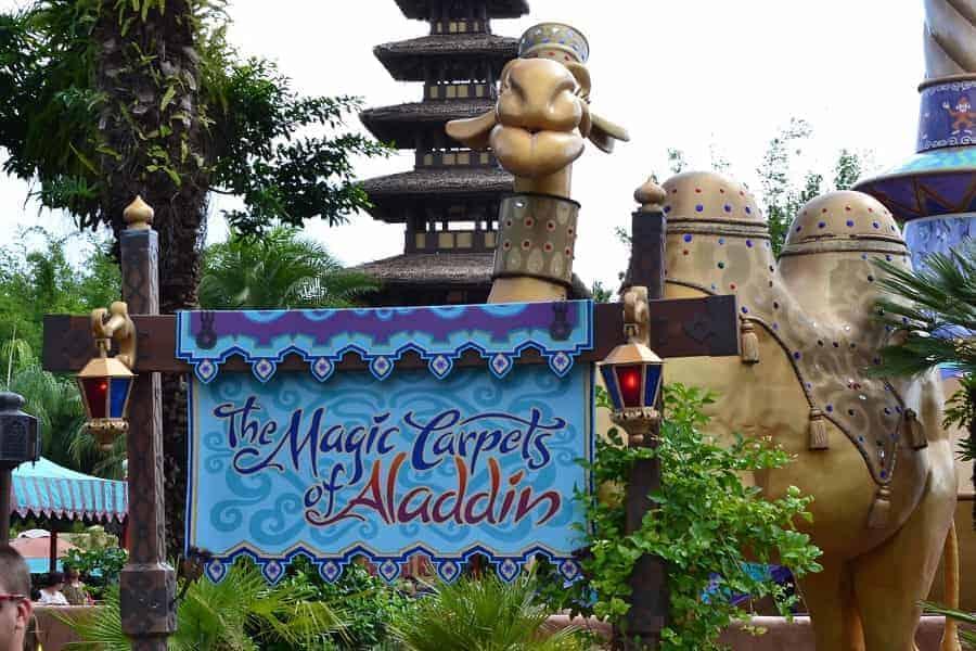 Magic Carpets of Aladdin at Magic Kingdom