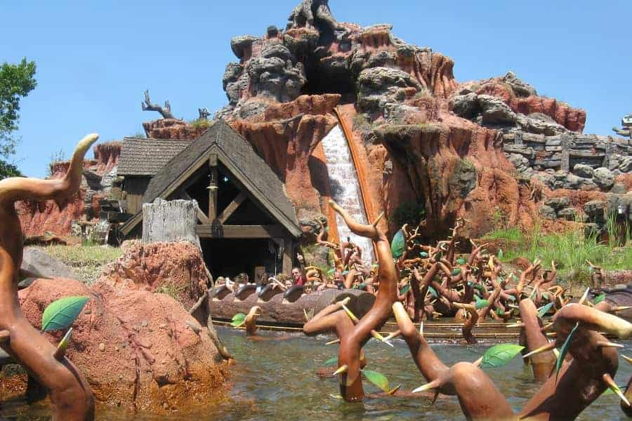 Splash Mountain in Magic Kingdom