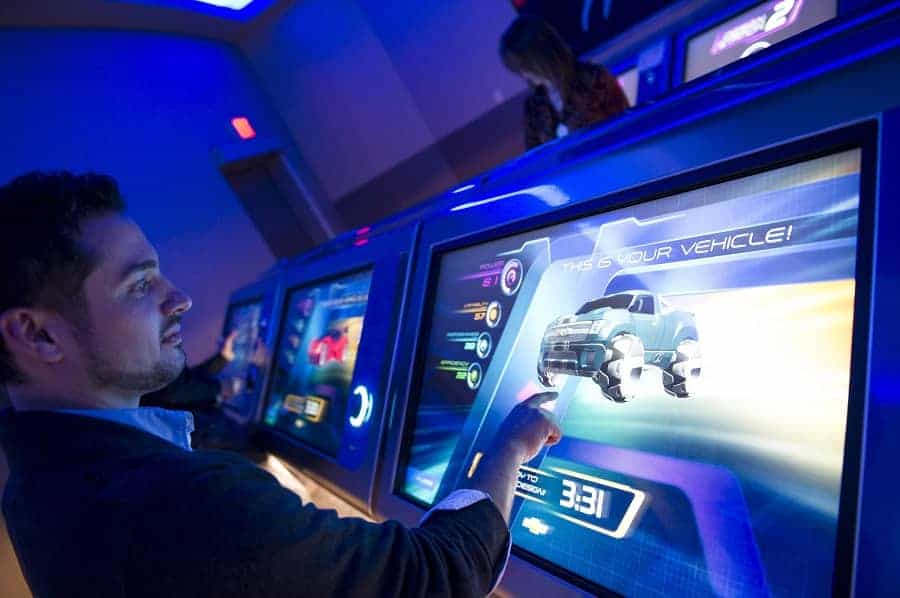 Create your vehicle at Test Track