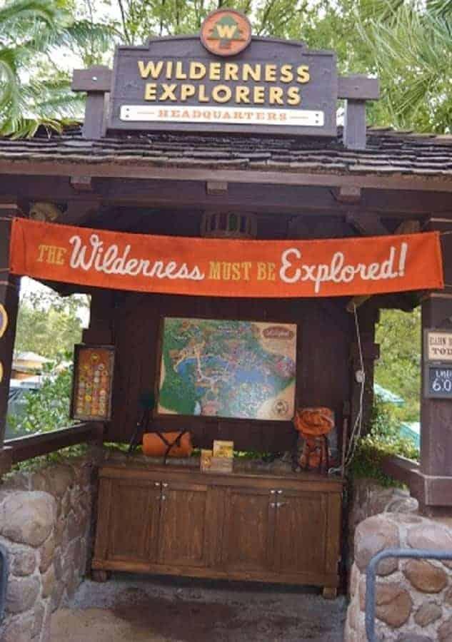 Wilderness Explorers Program in Animal Kingdom