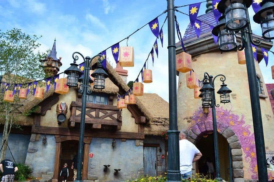 Rapunzel's Village in Magic kingdom
