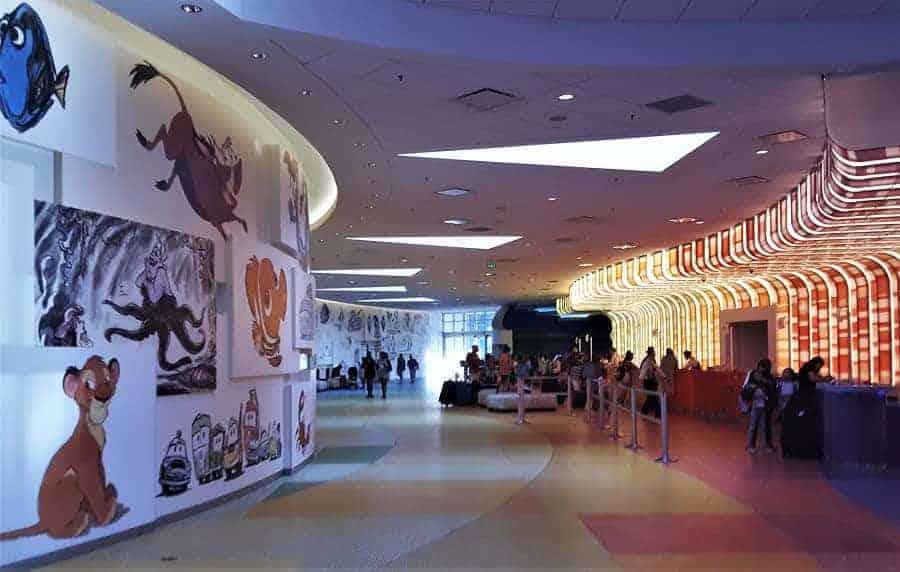 Art of Animation Lobby