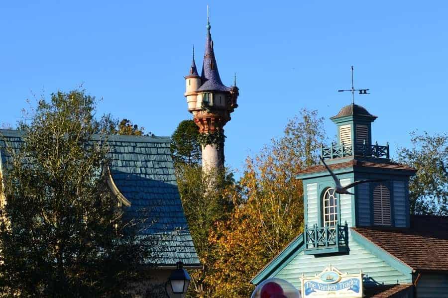 Rapunzel's Tower in Fantasyland