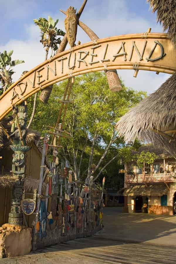 Adventureland in California