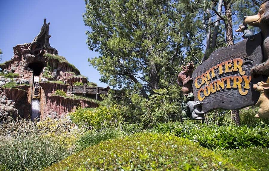 Critter Country in Disneyland