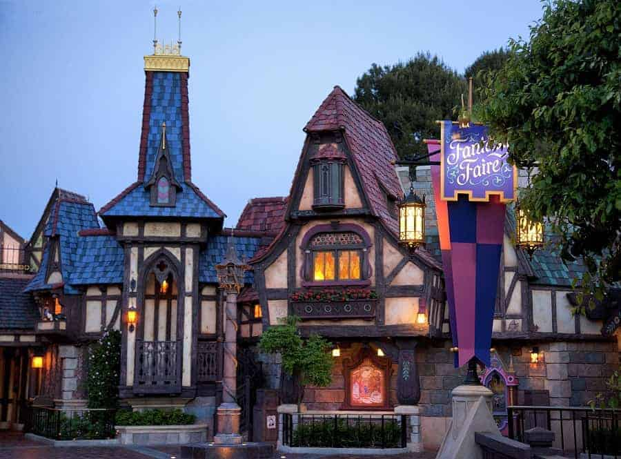 Fantasy Faire in Disneyland
