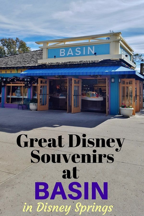 Basin in Disney Springs