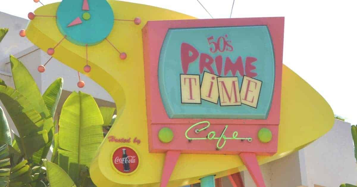 50's Prime Time Cafe in Disney World