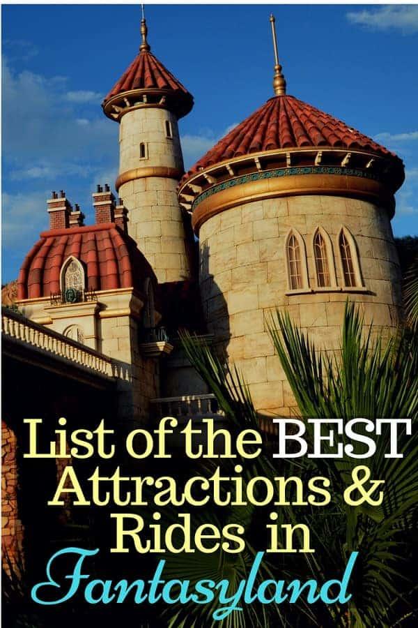 Best Rides & Attractions in Fantasyland