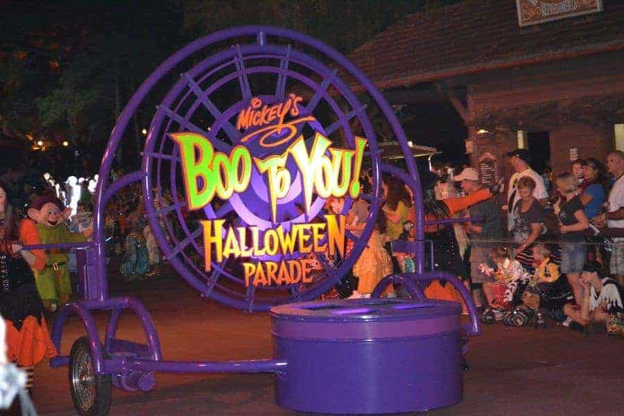 Boo to You Parade at Disney