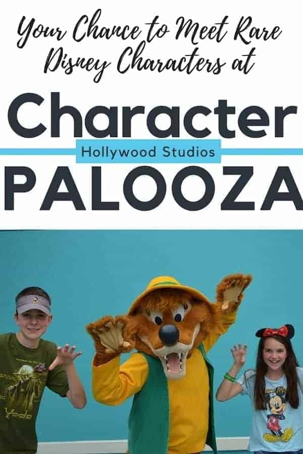 Disney World Character Palooza at Hollywood Studios