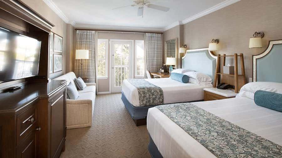 Disney Beach Club Resort Room