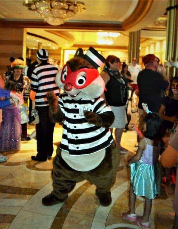 Disney Halloween Cruise Dance Party