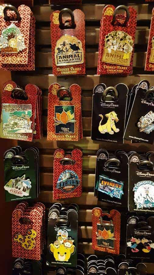 Animal Kingdom Pins