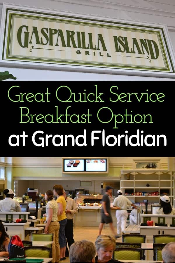 Gasparilla Island Grill Breakfast at Grand Floridian Resort