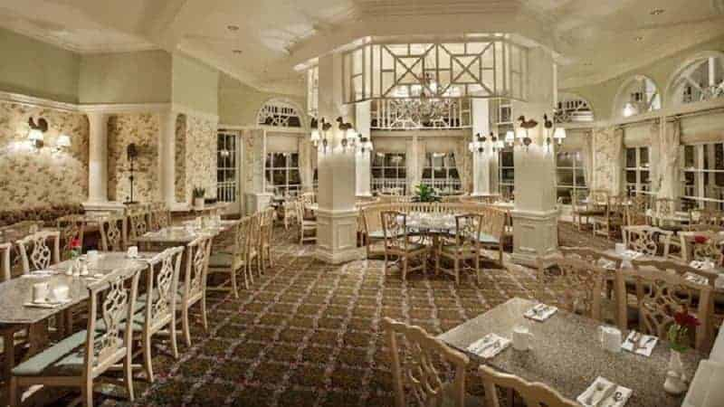 Inside Grand Floridian Cafe