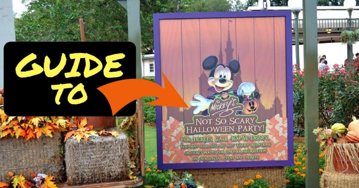 Mickey's Halloween Party in Disney World